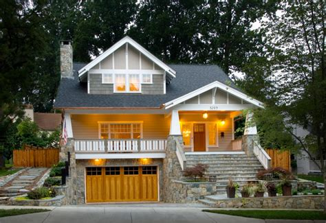 Can you spot all the changes they made to the exterior? california craftsman style house with garage - Google ...