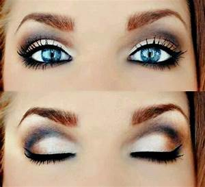 Blue eyes beautiful eye shadow color for blue eyes   Hair ...