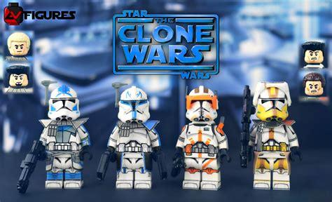 lego star wars  clone wars av figures captain rex