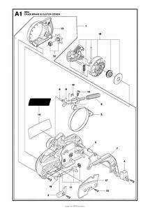 Saw Parts Diagram