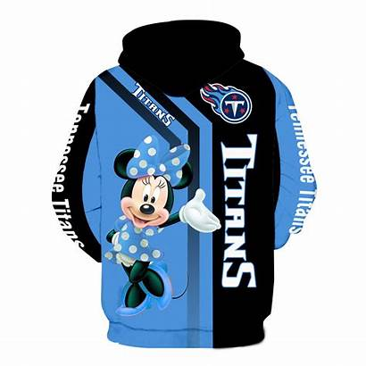 Titans Tennessee Minnie Hoodie Mouse V1460