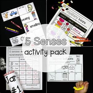 5 Senses Activity Pack - Playdough To Plato