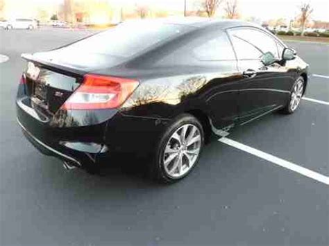2012 Honda Civic Si For Sale by Buy Used 2012 Honda Civic Si Coupe 2 Door 2 4l With 4824