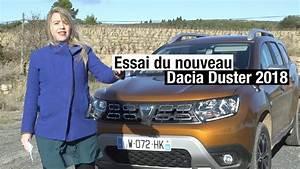 Nouveau Dacia Duster 2018 : essai du nouveau dacia duster 2 2018 1 2 tce 125ch youtube ~ Medecine-chirurgie-esthetiques.com Avis de Voitures