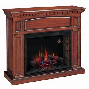 Shop Chimney Free 53-in W 4,600-BTU Premium Cherry Wood