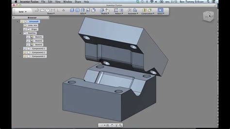 Autodesk Inventor For Mac by Mac Inventor Fusion Tutorial Mould Design Interresant