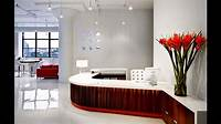 lovely office decor themes Office Reception Design Ideas at Modern Home Designs