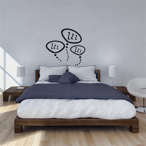stickers pour chambre stickers muraux pour chambre sticker mural zzz zzz