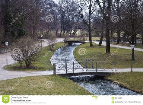 Englischer Garten Winter by Munich Englischer Garten In Winter Stock Image Image Of