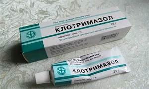 Клотримазол акрихин мазь от грибка ногтей