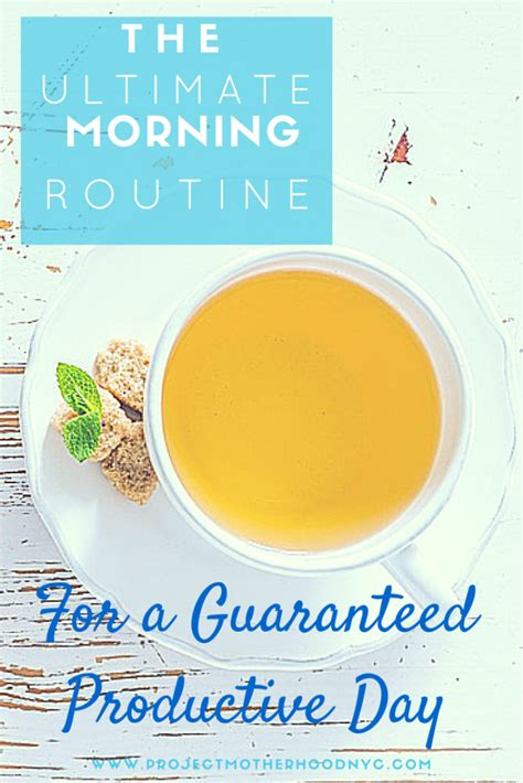 The Ultimate Morning Routine For A Guaranteed Productive