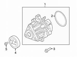 Ford Explorer Engine Water Pump  Liter  Dohc  Hybrid