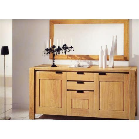 bureau merisier massif miroir pour bahut karla meubles de normandie