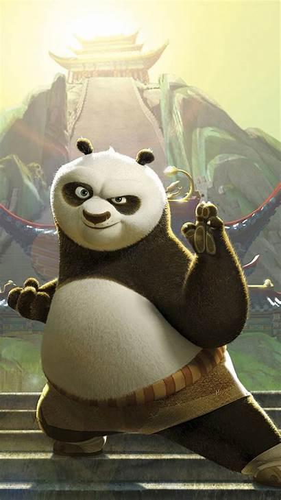 Panda Cartoon Iphone Kunfu