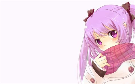 Pink Anime Girl Wallpapers Wallpaper Cave