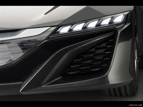 2013 acura nsx concept headlight hd wallpaper 6