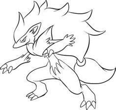 Es ähnelt im großen und ganzen einem wolf. Coloriage Zacian Lame Brillante Pokemon Legendaire à ...