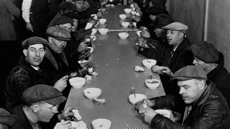 mobster al capone ran  soup kitchen   great depression history