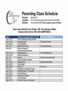 Child Chart Free 5 Parenting Schedule Examples Samples In Pdf