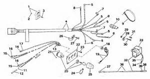 Johnson 1990 225 - J225tlass  Wiring Kit Dual Engine 225cx