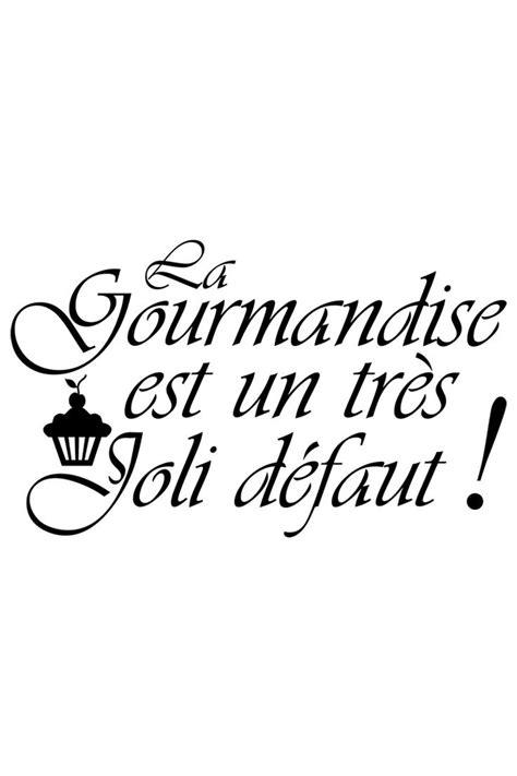 balance de cuisine pas cher vente ambiance sticker 23259 lettrage citations en français sticker la gourmandise est