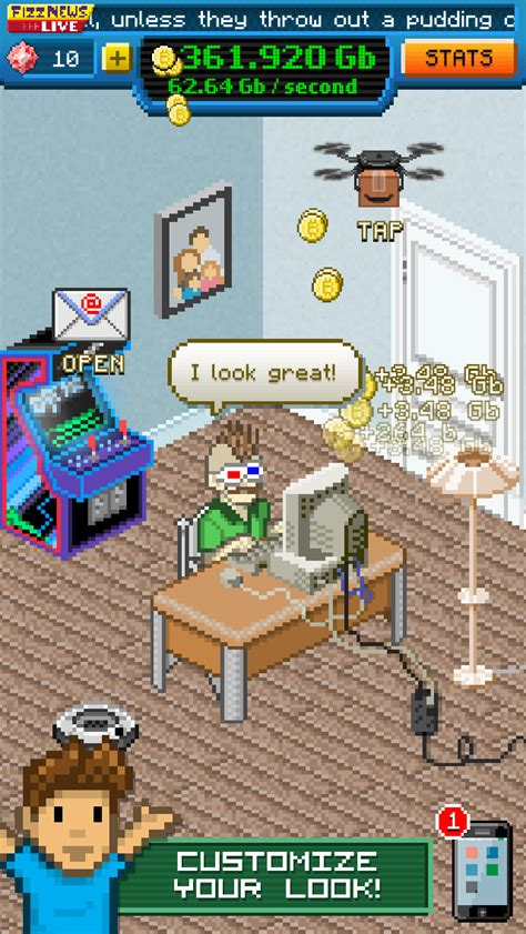 How much do you know about bitcoins? Bitcoin Billionaire - Noodlecake Studios › Games