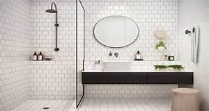 Décoration D Une Petite Salle De Bain : d co petite salle de bain avec baignoire ~ Zukunftsfamilie.com Idées de Décoration