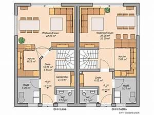 Doppelhaus Grundriss Beispiele : doppelhaus twin xl von kern haus familien doppelhaus ~ Lizthompson.info Haus und Dekorationen