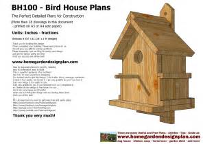 plans to build a house sntila home garden plans bh100 bird house plans construction bird house