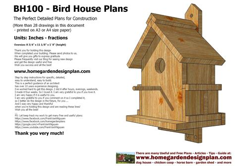 build a house free bird house plans designs pdf woodworking