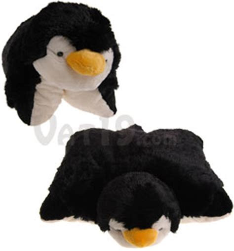 penguin pillow pet my pillow pets cuddly stuffed animals that as a pillow