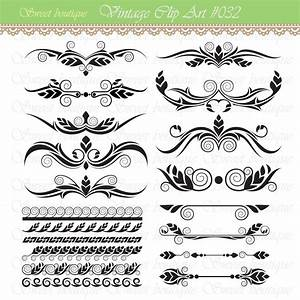 text divider design elements clipart With wedding invitation text divider