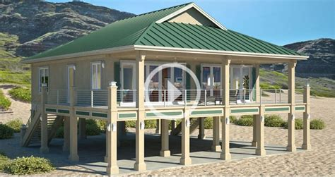 clearview p  sq ft  piers beach house plans