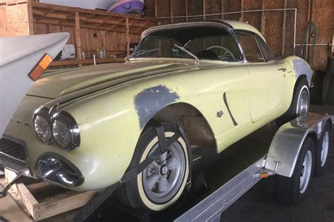 Sale Ebay by Fuel Injected Barn Find 1962 Corvette