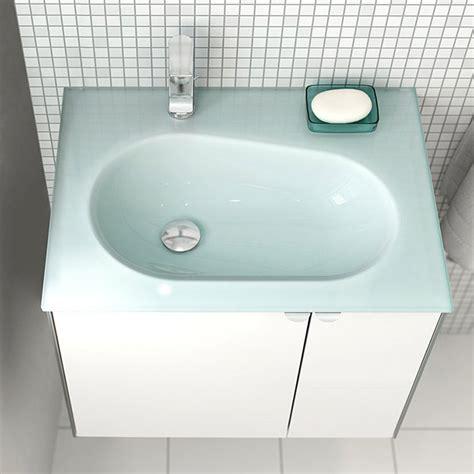 Camargue Balando Waschtisch (45 X 62 Cm, Glas, Weiß) Bauhaus
