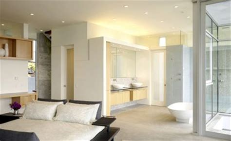 chambre ouverte sur salle de bain la sélection des six plus belles décos salle de bain