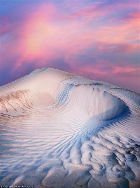 australias ice cream dunes captured  stunning