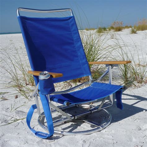 Suntracker Swivel Lounger Beach Chair At Hayneedle