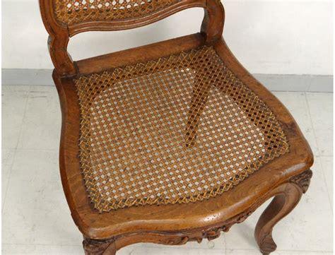 chaises louis xv chaise louis xv cannée noyer sculpté fleurs antique