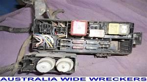 Toyota Hilux 1989 1996 Petrol Fuse Box Relays Wires Cut