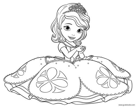 Sofia The First Disney Princess Coloring - Castrophotos