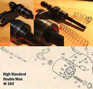 High Standard Double Nine Revolver Ejector Spring Woes