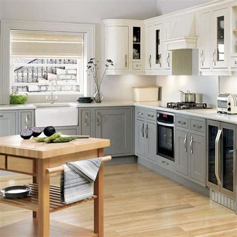 white l shaped kitchen with island white l shaped kitchen finished in charcoal