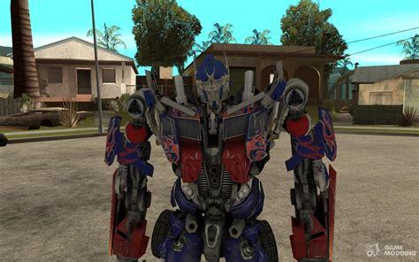 Optimus Prime For Gta San Andreas