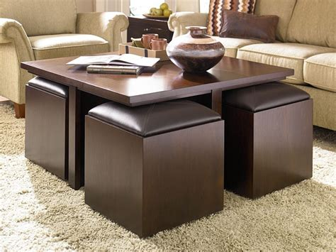 63 w owen coffee table top grain leather ebondy & cigar brown option brass base. The Best Brown Leather Ottoman Coffee Tables With Storages