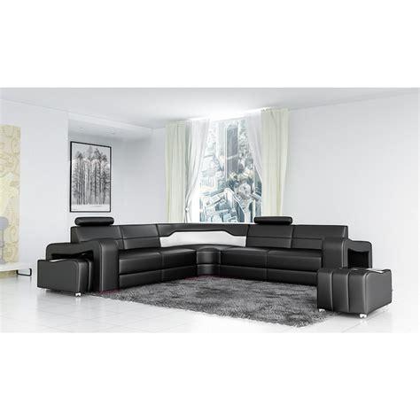 canape montpellier canapé d 39 angle en cuir pleine fleur montpellier xl pop