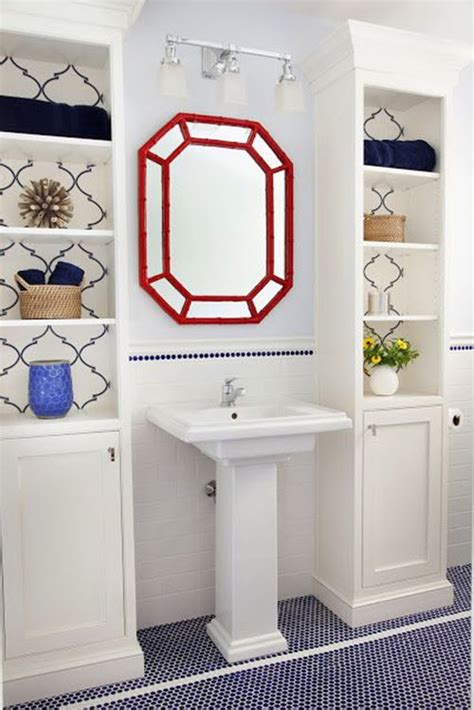 navy blue bathroom floor tiles ideas  pictures