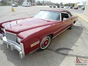 Cadillac Eldorado Cabriolet : cadillac eldorado convertible red ebay motors 350876175677 ~ Medecine-chirurgie-esthetiques.com Avis de Voitures