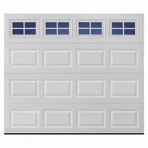 shop pella traditional series 9 ft x 7 ft white garage With 7 x 9 foot garage door