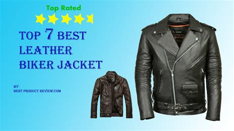 Leather Motorcycle Jackets For Men? Top 7 Best Mens Black